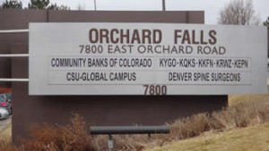 Photo of Orchard Falls Building Sign